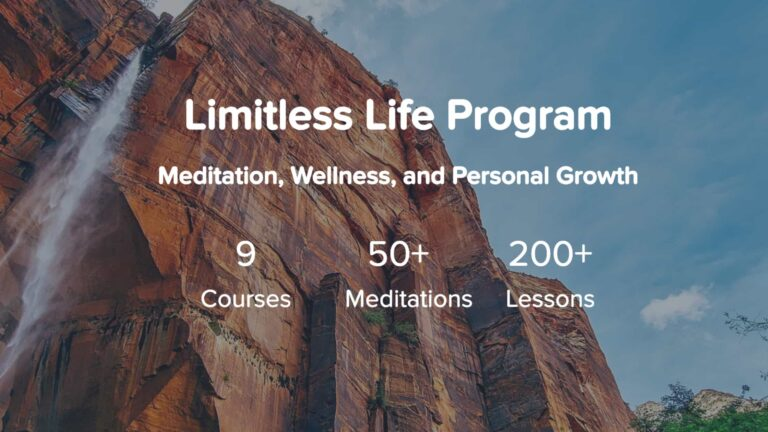 How Limitless Life Meditation Program Ends Your Struggle With Meditation