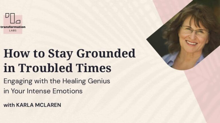 How To Stay Grounded In Troubled Times – Review