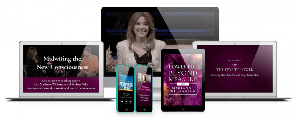 Marianne Williamson's Course - Powerful Beyond Measure