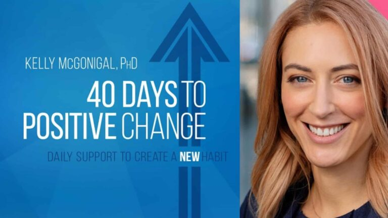 Read more about the article 40 Days To Positive Change – Online Course (Review)